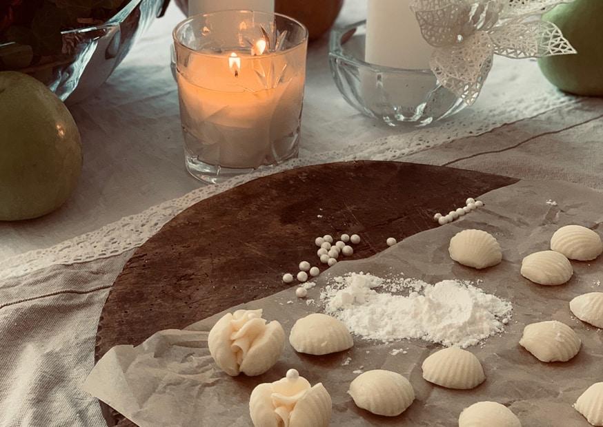 Mušličky plněné máslovým krémem